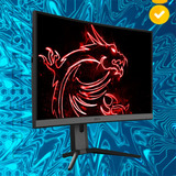 Nw Monitor Gamer Msi Optix Mag27 Curvo 27 1080fhd 165hz 1ms
