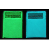 Pigmento Polvo Fotoluminiscente Glow In The Dark.