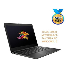 Laptop Portátil Hp Core I5 8va Gen 8gb 500gb Led 14, I3/i7