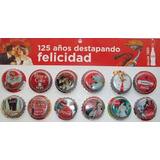 Set Tapas Coca Cola Con Exhibidor. 125 Años En Colombia 2011