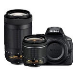Nikon Kit D5600 + 18-55 + 70-300 24.2 Mp Lcd 3.2¨ Wifi