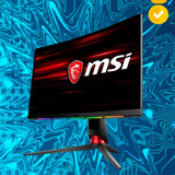 Nw Monitor Gamer Msi Optix Mpg27cq Curvo 27  2k 144hz 1ms