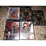 Juegos De Play Station 2 Y Gamecube Castlevania