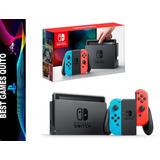 Nintendo Switch Neon Consola /nueva/original