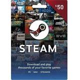 Tarjeta De Recarga Para Steam 50 Usd - Juegos Pc - Forest