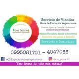 Servicio De Viandas Vegetarianas En Cuenca