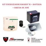 Kit Cerco Electrico Energizador Hagroy Xpower I6 - I8  Casas