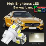 Foco Led T10 Uña Smd 5050 12v 3w Guía Placa Stop Luz Blanca