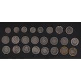 Venezuela 1965-2007 Colección De 24 Monedas Bolivar Fuerte