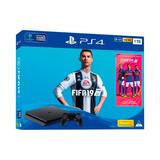 Playstation 4 1tb + Fifa 19 + Suscripción Playstation Plus