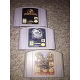 Juegos Nintendo 64 Mortal Kombat Subzero Trilogy N64