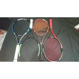 Raquetas De Tenis Babolat Y Wilson
