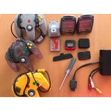 Accesorios Nintendo 64 Control Memoria Rumble Cables