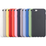 Silicone Case Estuche Original iPhone 6 7 Plus 8 X Xr Xs Max