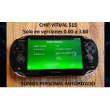 Juegos Psvita Digitales $3 Y Chip Virtual
