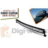 Barra Curva Led 240w 42 Pulg Resistente Al Agua Incluido Iva