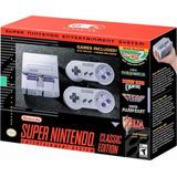 Super Nintendo Snes Classic Mini Tarjeta Credito Local