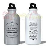 Tomatodo, Botella Aluminio Personalizada Regalo Con Foto