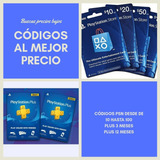 Tarjetas Psn Playstation Card Plus Usa $10$ 20 $50