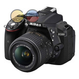 Nikon Cámara Profesional D5300 + 18-55mm 24.2 Mp Wifi Gps