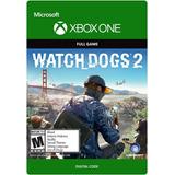 Código Digital 18 Dígitos Watch Dogs 2 Xbox One Garantizado
