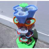 Torre Hidropónica Con Riego Automático (incluye Nutrientes)