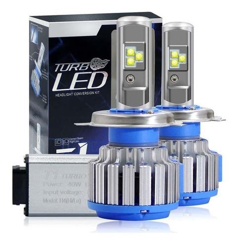 Focos Luces Turbo Led T1, 15.000 Lumens, (garantia 2 Años)