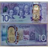 Billetes Mundiales : Canada 10 Dolares 2017 Polimero America