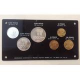 Juego 6 Monedas Commemorativas (silver) Mundial Argentina 78