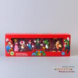 Muñeco Figuras Varios - Super Mario Coleccionable Original