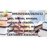 Se.hacen Trabajos Académicos, Universitarios  Realizan.com