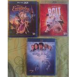 Películas Disney Originales Blu-ray 3d 2x1