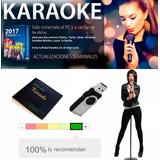 Karaoke 2019 Usb, 7757 Pistas, 700 Videos, Cancionero