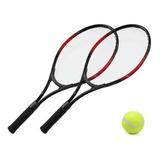 Set De Tenis 2 Raquetas + Pelota Y Funda Ideal Principiante