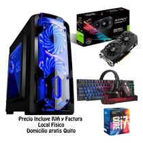 Computador Cpu Gamer Intel Core I7 7ma Gen 1tb 8gb Gtx1050ti