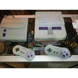 Super Nintendo 1 Control 1 Juego Snes Oferta Especial Free