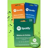 Gift Card Spotify Premium 1 Mes Envio Gratis