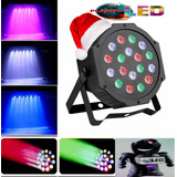 Tacho De Luces Led Audioritmico Dmx Dj.eventos Disco 18w Rgb