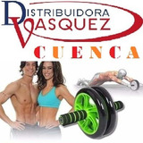 Rueda Abdominal Fitness Crossfit Roll Out Doble Ruler Quemad