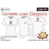 Camiseta Para Campaña