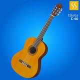 Guitarra Clásica Yamaha C40 Cuerdas De Nylon Nueva Garantia