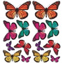 Sticker Panel Decorativo De Mariposas . 15 Mariposas