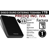 Disco Externo Toshiba 1tb 1 Tera Usb 3.0. Nuevos Inc Iva