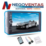 Radio Para Carro Doble Din Mp5 De 7 Usb Sd Aux Bt De Oferta