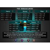 Tarjeta League Of Legends Eloboost Lan