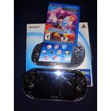 Psp Vita Sony 3g Mem De 16 Gb, 1 Juego Físico Y 6 Digitales