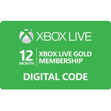 Xbox Live Gold 12 Meses - Garantizado