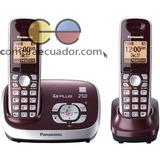 Panasonic S/c Teléfono Inalámbrico Doble Base+ Identificador