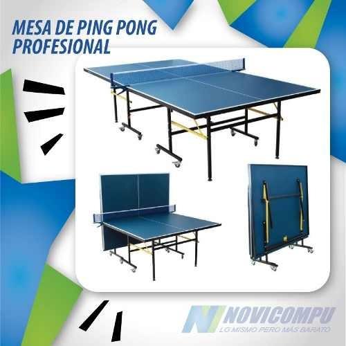 7dbc0d2b5 Mesas De Ping Pong Profesionales Plegables One