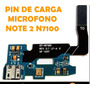 Pin De Carga Usb Flex Microfono Samsung Galaxy Note 2 N7100